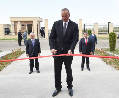 Ilham Aliyev inaugurated Republican Artificial Insemination Center in Goygol